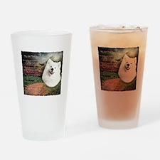 """Why God Made Dogs"" Samoyed Drinking Glass"