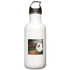 """Why God Made Dogs"" Samoyed Water Bottle"