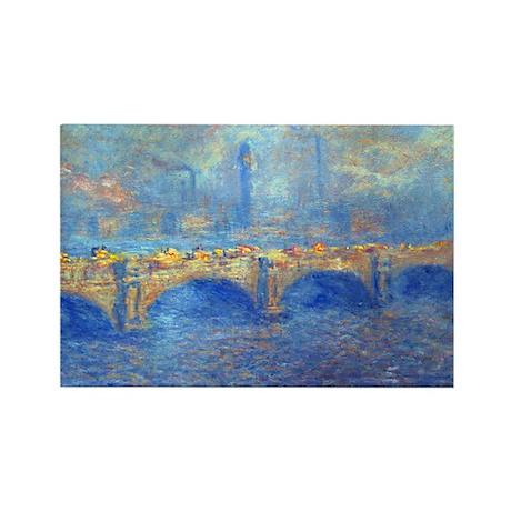Monet Rectangle Magnet