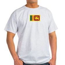 Sri Lanka Ash Grey T-Shirt