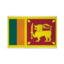 Sri Lanka Rectangle Magnet