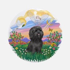 Guardian-ShihTzu#21 Ornament (Round)
