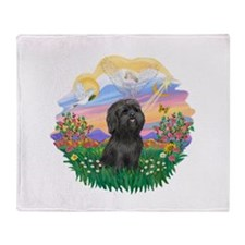 Guardian-ShihTzu#21 Throw Blanket