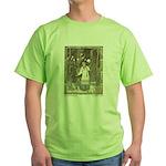 Bilibin's Vasilissa the Beautiful Green T-Shirt