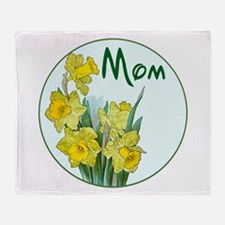 Cute Mothers day Throw Blanket