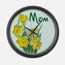 Funny Mothers day Large Wall Clock
