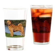 Shar Pei 9Y202D-026 Drinking Glass