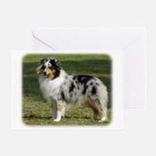 Shetland Sheepdog 9J089D-04 Greeting Card