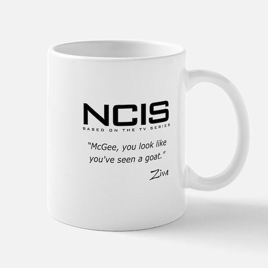 NCIS Ziva David Seen a Goat Quote Mug