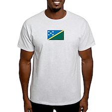 Solomon Islands Ash Grey T-Shirt
