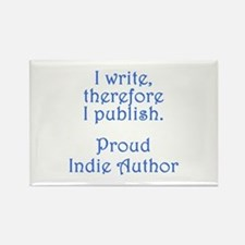Proud Indie Author Rectangle Magnet