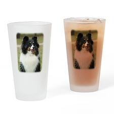 Shetland Sheepdog 9J089D-19 Drinking Glass