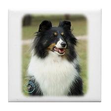Shetland Sheepdog 9J089D-19 Tile Coaster