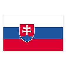 Slovakia Rectangle Decal