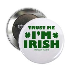 """St.Patrick's Day 2.25"""" Button (100 pack)"""