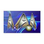 22x14 Starfleet Wall Peel