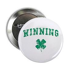 """Winning St Patty 2.25"""" Button"""
