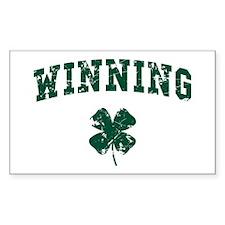 Winning St Patty Decal