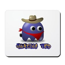 Ted The Cowboy Mousepad