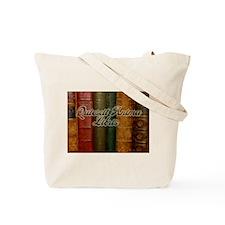 """""""Quiescit Anima Libris"""" Tote Bag"""