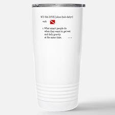 Scuba-Dive Definition Stainless Steel Travel Mug