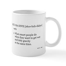 Scuba-Dive Definition Mug