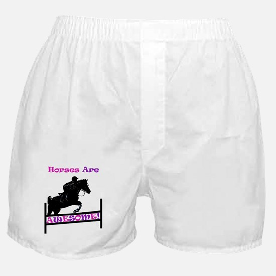 Horses Are Awesome Boxer Shorts