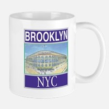 Brooklyn Train Token Large Mugs