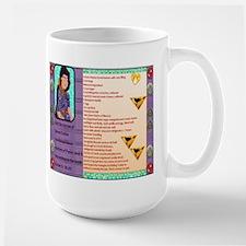 Large Mug, Lg mug, Purim Celebrated March 8th 2012
