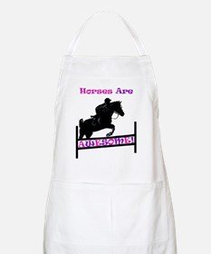 Horses Are Awesome Apron