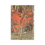 Bilibin's Red Horseman Rectangle Magnet (10 pack)