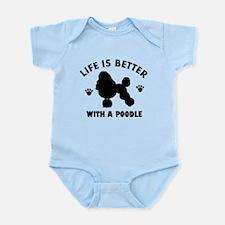Poodle breed Design Infant Bodysuit
