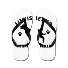 Rottweiler breed Design Flip Flops