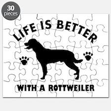 Rottweiler breed Design Puzzle