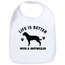 Rottweiler breed Design Bib