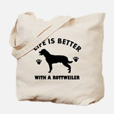 Rottweiler breed Design Tote Bag