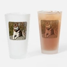Siberian Husky 9Y773D-064 Drinking Glass
