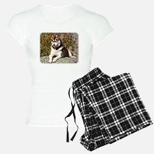 Siberian Husky 9Y773D-064 Pajamas