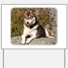 Siberian Husky 9Y773D-064 Yard Sign