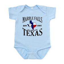 Marble Falls, Texas Infant Bodysuit
