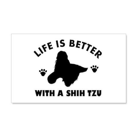 Shih tzu breed Design 22x14 Wall Peel
