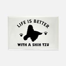 Shih tzu breed Design Rectangle Magnet