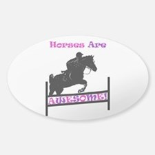 Horses Are Awesome Decal