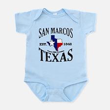 San Marcos, Texas Infant Bodysuit