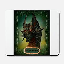 Beware The Dragon Mousepad