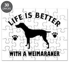 Weimaraner breed Design Puzzle
