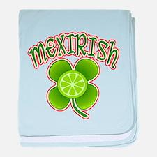 mex-irish baby blanket