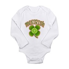 mex-irish Long Sleeve Infant Bodysuit