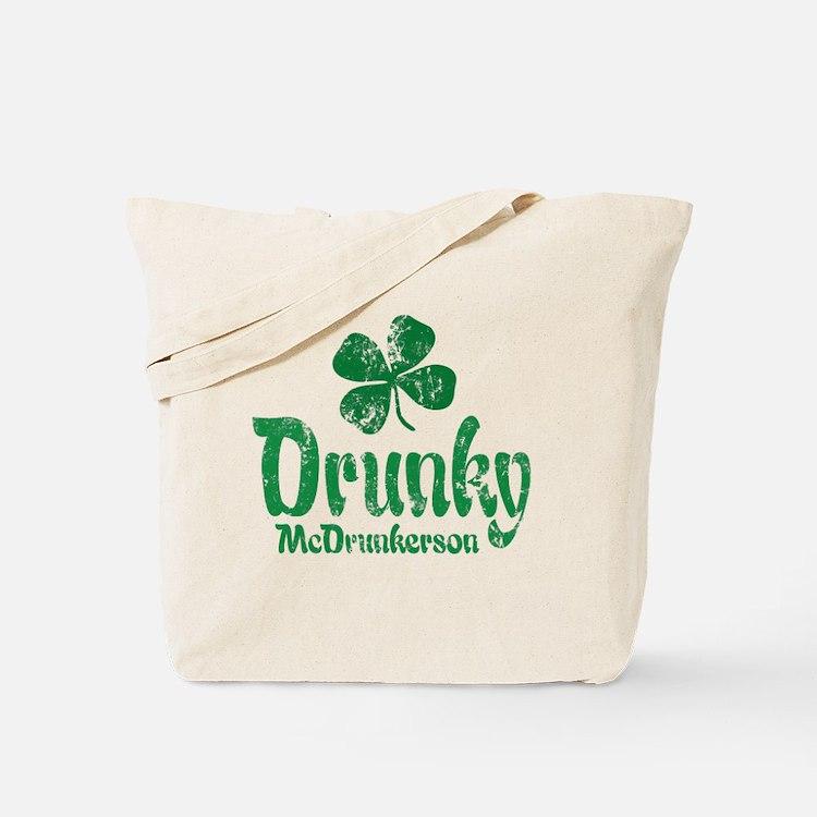 Drunky McD Tote Bag