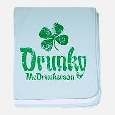 Drunky McD baby blanket